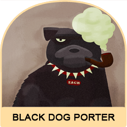 Black Dog Porter Image 1